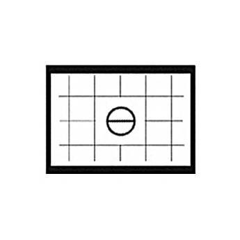 Beattie Intenscreen Split Image Horizontal Grid Nikon F and F2