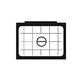 Beattie Intenscreen Split Image Horizontal Grid for Nikon F3