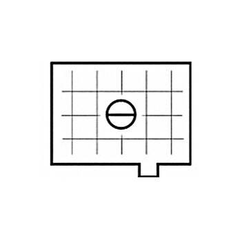 Beattie Intenscreen Split Image Horizontal Grid for FE, FA, FM2 and FE2
