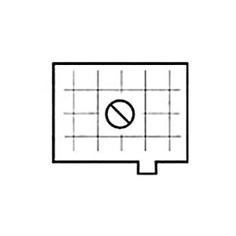 Beattie Intenscreen Split Image Diagonal Grid for Nikon FE, FA, FM2 and FE2