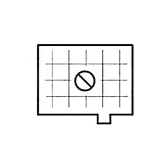 Beattie Intenscreen Split Image Diagonal Grid for Pentax LX