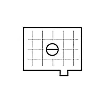 Beattie Intenscreen Split Image Horizontal Grid for Pentax PZ-1