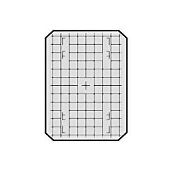 Beattie 85221 Intenscreen for Zone VI 4x5 Camera  with 1cm Grid