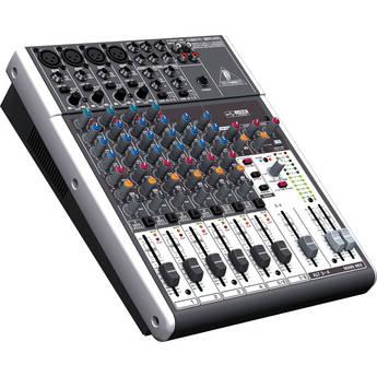 Behringer XENYX 1204USB - 12-Input USB Audio Mixer