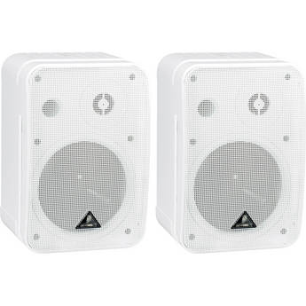"Behringer 1C - Ultra Compact Two-Way 5.5"" Passive Monitor (Pair) (White)"
