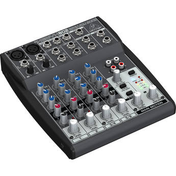 Behringer XENYX 802 8-Channel Compact Audio Mixer