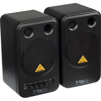 Behringer MS16 2-Way Active Nearfield Monitors (Pair)