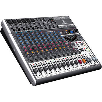 Behringer XENYX X1832USB - 18-Input USB Audio Mixer with Effects