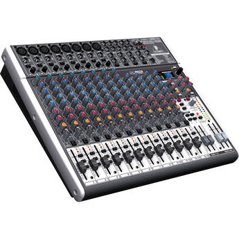 Behringer XENYX X2222USB - 22-Input USB Audio Mixer with Effects