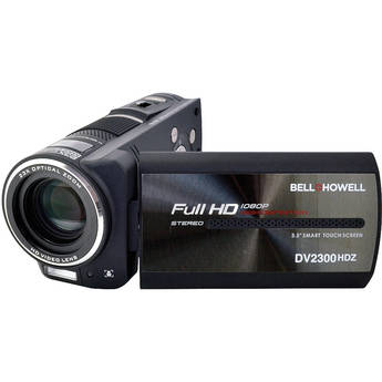 Bell & Howell DV2300HDZ Full HD 1080p Digital Camcorder & Still Camera