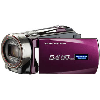 Bell & Howell DNV16HDZ Full HD Rogue Night Vision Camcorder (Maroon)