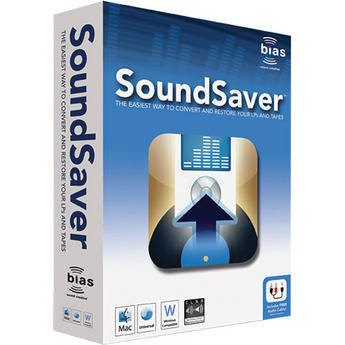 Bias SoundSaver - Audio Cleaning Utility for LPs and Tape