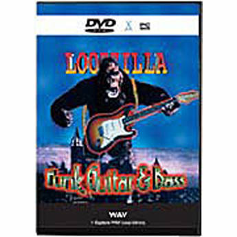 Big Fish Audio Sample CD: Loopzilla Funk Guitar and Bass (WAV)