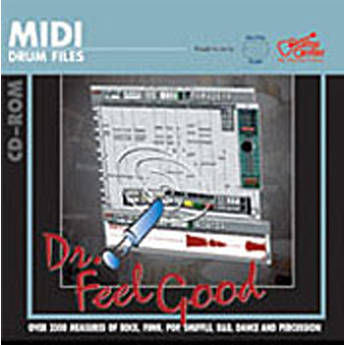 Big Fish Audio Dr. Feelgood - MIDI Drum Loop CD-ROM
