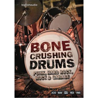 Big Fish Audio DVD: Bone Crushing Drums