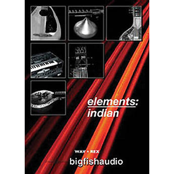 Big Fish Audio Elements: Indian DVD (REX & WAV Formats)