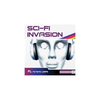 Big Fish Audio Sci-Fi Invasion DVD (WAV Format)