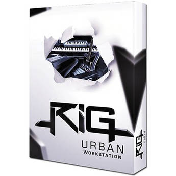 Big Fish Audio DVD: RiG Urban Workstation