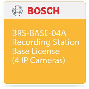 Bosch BRS-BASE-04A Recording Station Base License (4 IP Cameras)
