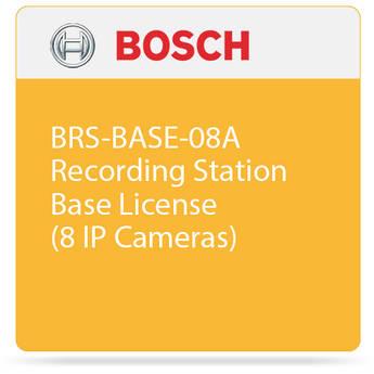 Bosch BRS-BASE-08A Recording Station Base License (8 IP Cameras)