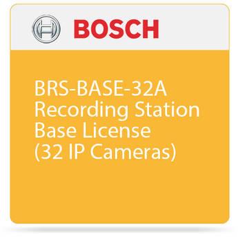 Bosch BRS-BASE-32A Recording Station Base License (32 IP Cameras)