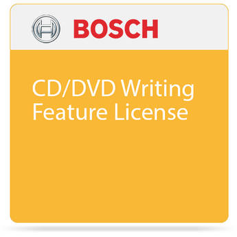 Bosch CD/DVD Writing Feature License