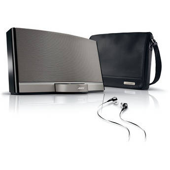 bose wireless surround sound speaker system and digital music player