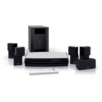 Bose lifestyle 28 series iii dvd home entertainment system black