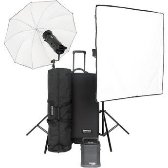 Bowens Gemini 1000Pro 2 Light Travelpak Kit with Pulsar Tx/Rx Radio Remote (90-250V)
