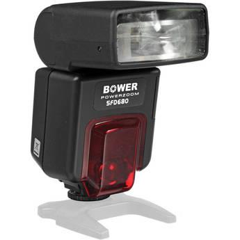 Bower SFD680 Power Zoom Digital TTL Flash for Canon Cameras