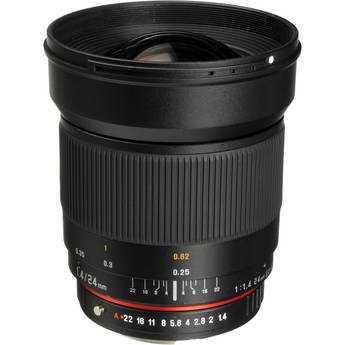 Bower 24mm f/1.4 Wide-Angle Lens for Pentax