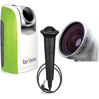 Brinno TLC200 Time Lapse Camera with Shutter Line and Wide Angle Lens Kit