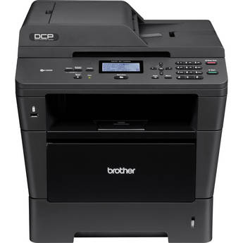 Brother DCP-8110DN Network Monochrome All-in-One Laser Printer