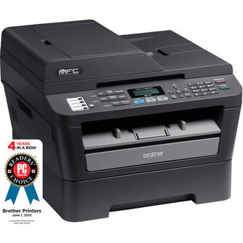Brother MFC-7460DN Network Monochrome All-in-One Laser Printer