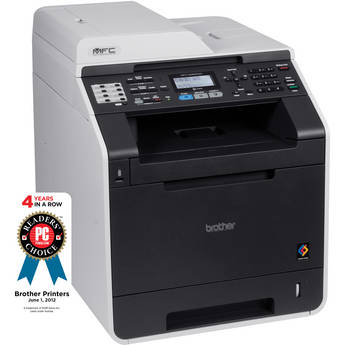 Brother MFC-9460CDN Network Color All-in-One Laser Printer