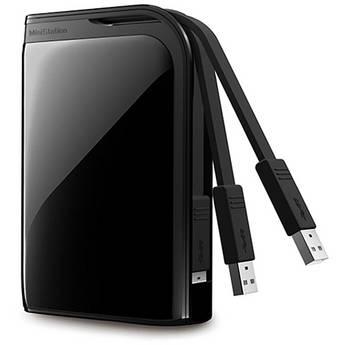 Buffalo MiniStation Extreme 500 GB Portable USB 3.0 Hard Drive (Black)
