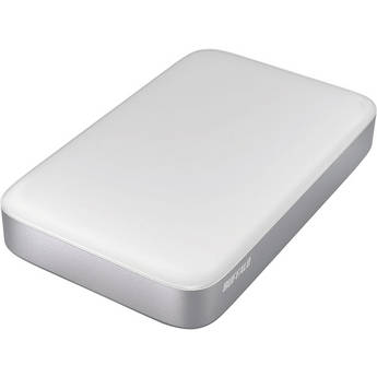 Buffalo 1TB MiniStation Thunderbolt/USB 3.0 Portable Drive with Cables
