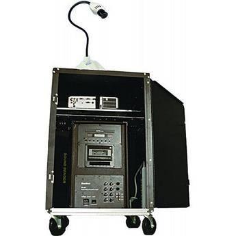 Hamilton Buhl AVPS-300SBC AV Presentation Cart with 80W DVD/PA System & Camera
