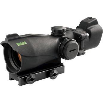 Bushnell 1x32 Trophy Riflescope with Red/Green T Dot Reticle (Matte Black)