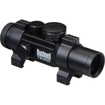 Bushnell 1x28 Trophy Riflescope w/ 4 Dial-In Elec. (Matte Black)