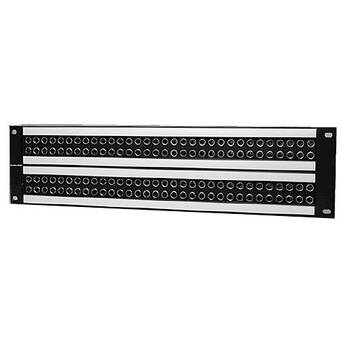 Canare 32MD-ST-2U / Mid-size HD-SDI Patchbay (2 x 32 / Normal Through)