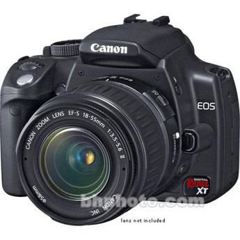Canon EOS Digital Rebel XT (a.k.a. 350D) Digital Camera Body (Black)