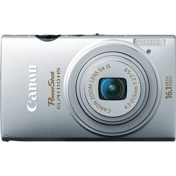 Canon PowerShot ELPH 110 HS Digital Camera (Silver)