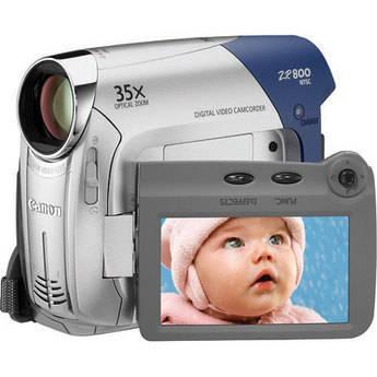 Canon ZR800 Mini DV Camcorder