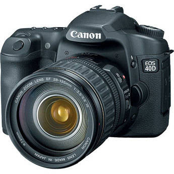 Canon EOS 40D SLR Digital Camera with Canon 28-135mm Lens