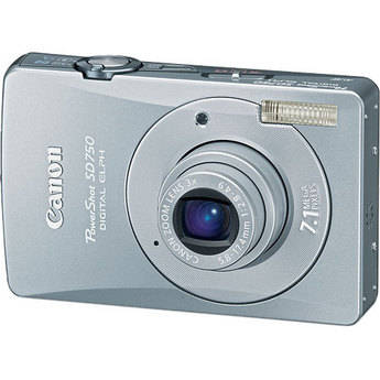 Canon PowerShot SD750 Digital Elph Digital Camera (Silver)