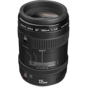Canon Telephoto EF 135mm f/2.8 Autofocus Lens Soft Focus
