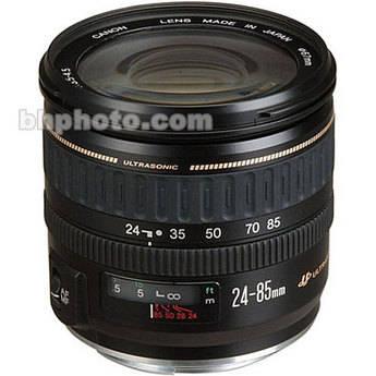 Canon Zoom Wide Angle-Telephoto EF 24-85mm f/3.5-4.5 USM Autofocus Lens