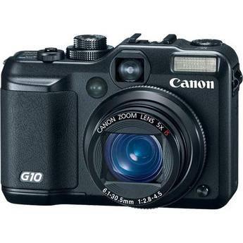 Canon PowerShot G10 Digital Camera (Black)