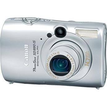 Canon PowerShot SD990 IS Digital ELPH Digital Camera (Silver)